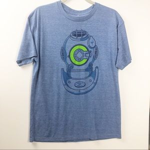 Chive Tees Bell Helmet T-Shirt (L)